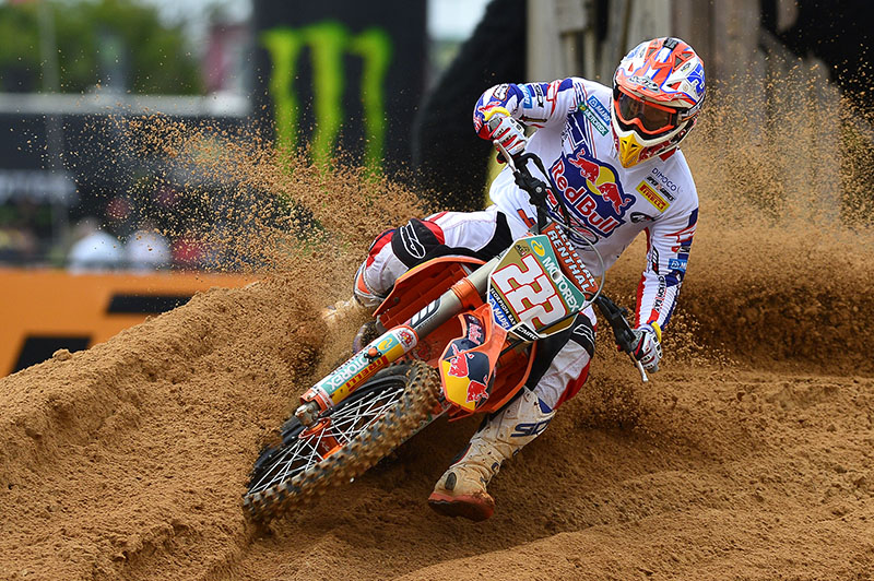 Cairoli vince il GP del Brasile 2013 a Beto Carrero - photo credits Image Source: Youthstream-Zanzani, motocrossmx1.com
